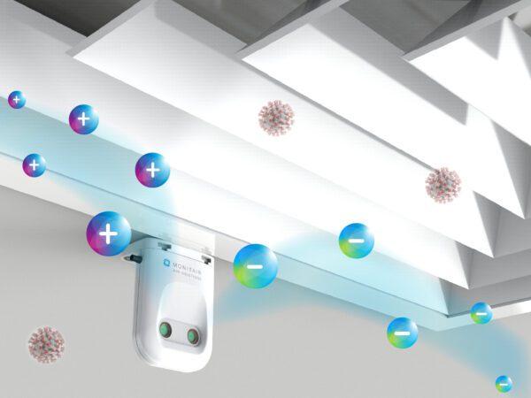 簡易夾式雙極離子空氣淨化器 EC1500 以色列製造