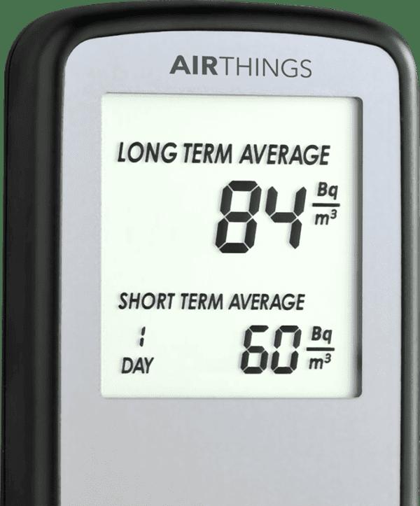 AIRTHINGS Corentium Portable Radon Gas Detector
