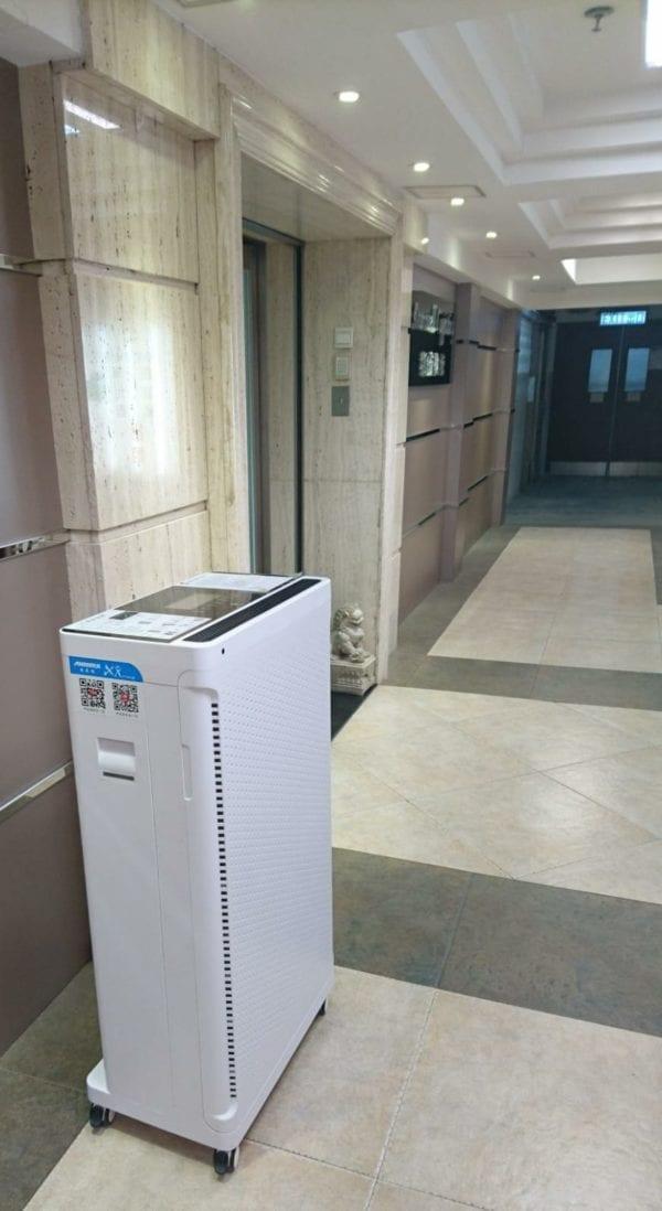 大容量 UVGI 紫外光殺菌智能空氣淨化器 FFU
