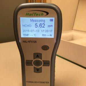 Haltech 賽納威手持甲醛檢測儀 HAL-HFX105