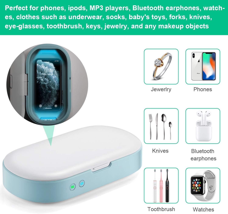 手提電話 UVGI 紫外燈消毒盒