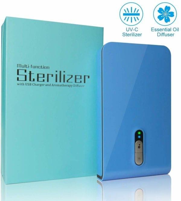 UVGI Multi-Fuctioning Smartphone Sterilizer