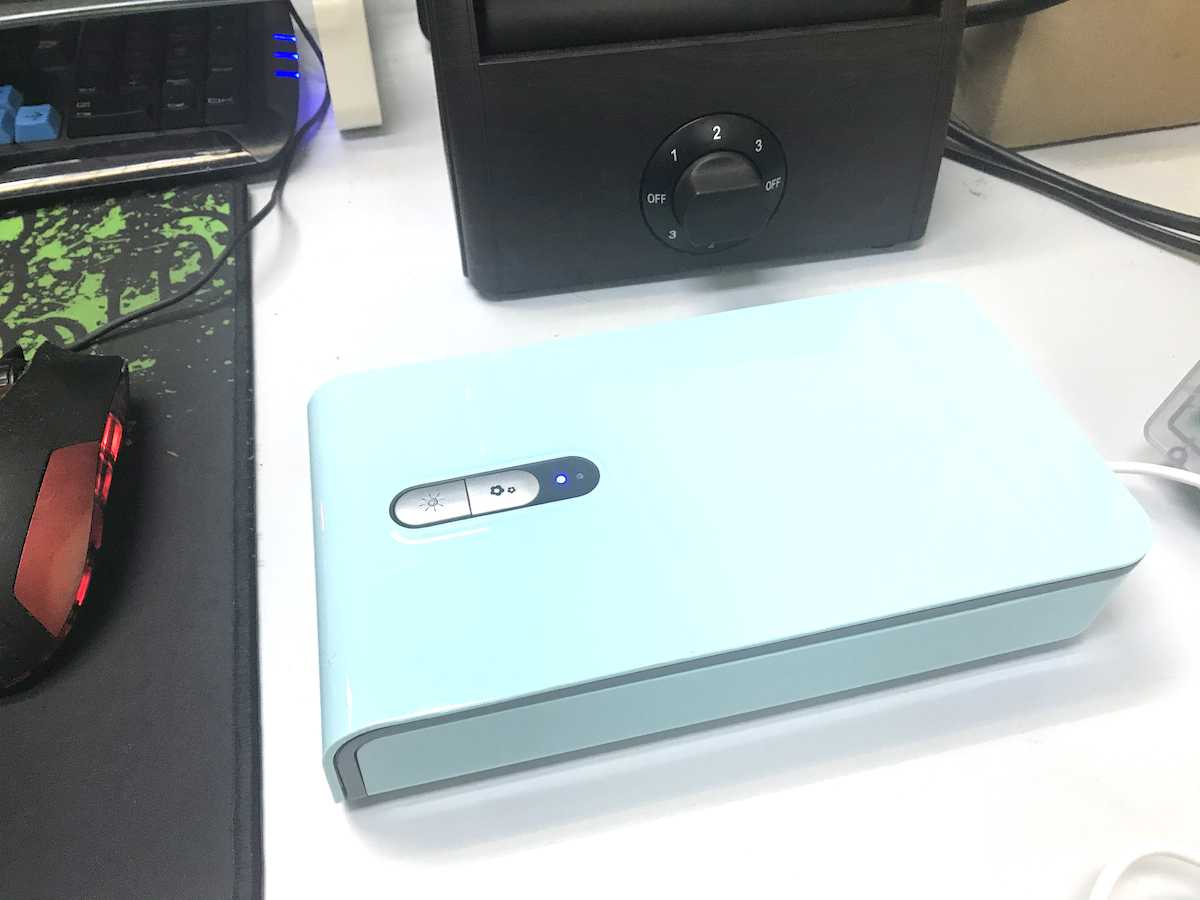 UVGI Smartphone Sterilizer Slimbox Germicidal