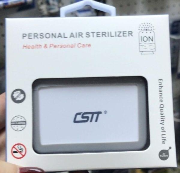 Portable Air Sterilizer & Deodorizer