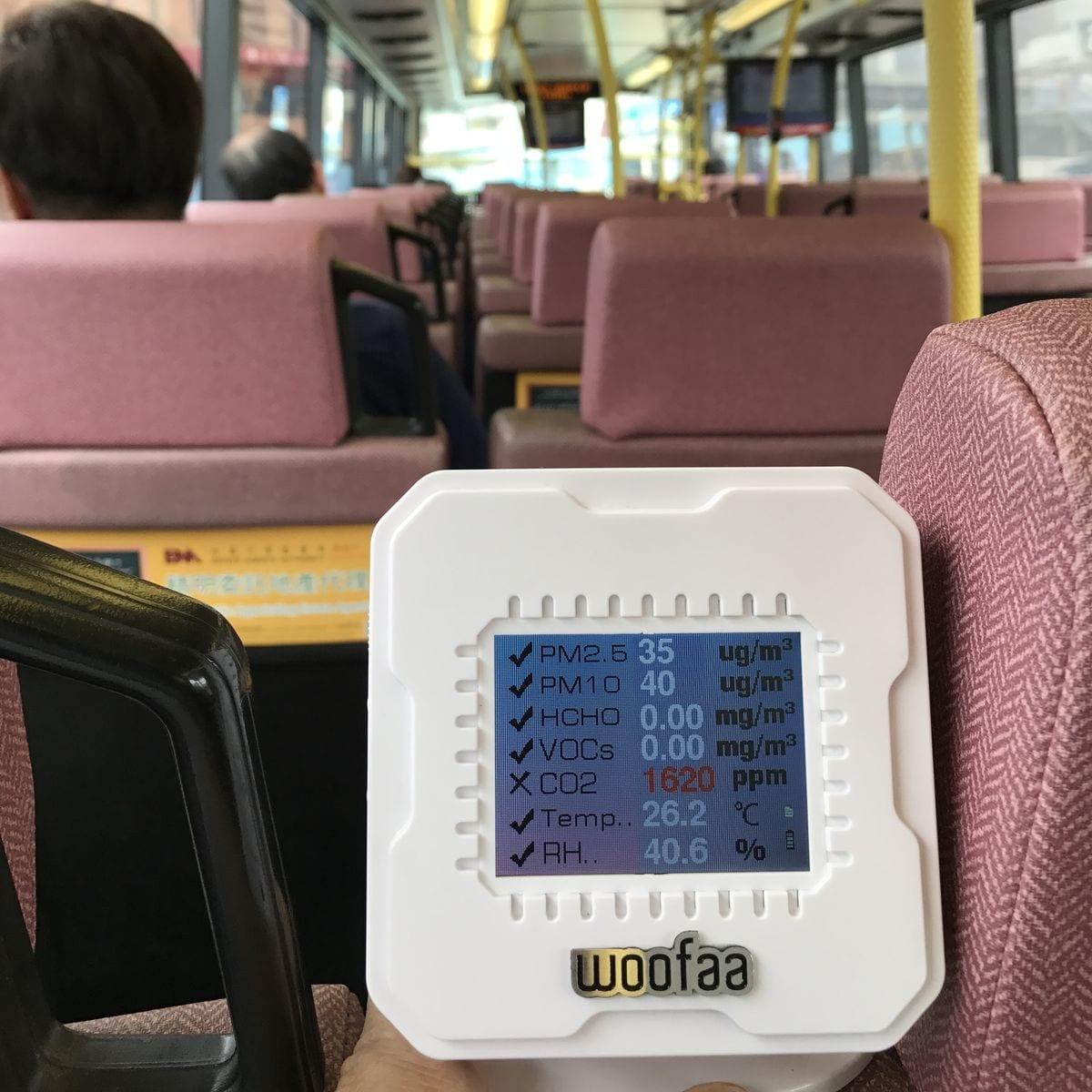 WOOFAA Dog Wireless Air Monitor