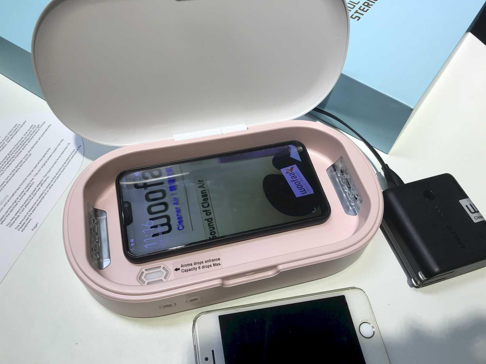 UVGI Smartphone Germicidal Sterilizer